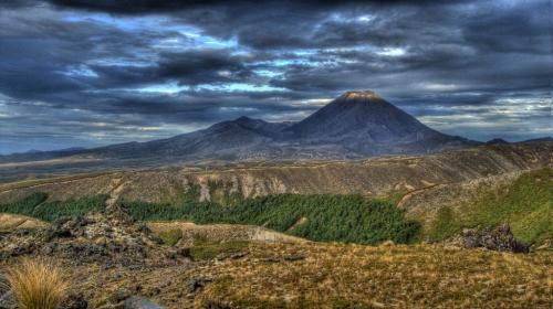 volcan,montagne,trek,nouvelle zélande,nature