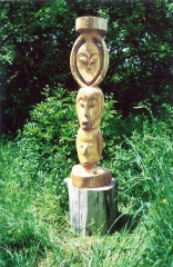 artiste, sculpture,arawak